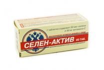 Селен-Актив таблетки 60 шт